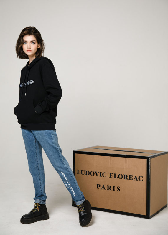 Джинсы, принт Ludovic Floreac Paris